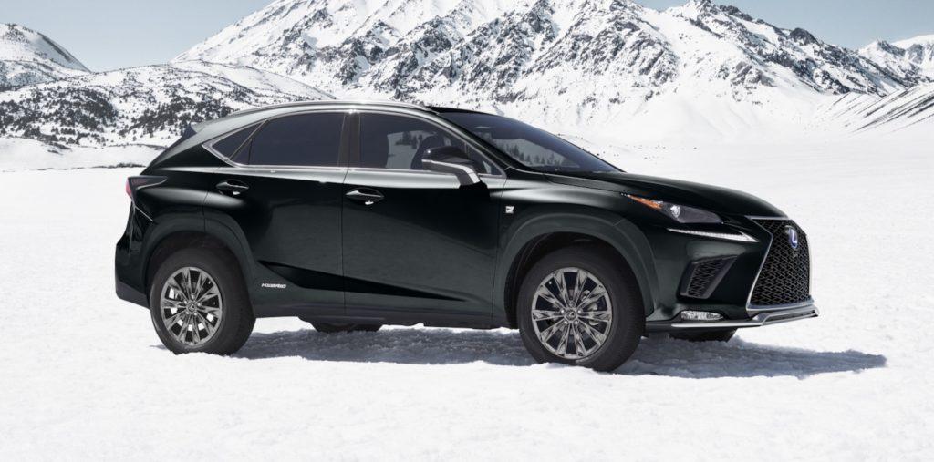 2021 Lexus NX Hybrid F Sport Black Line special edition is ...