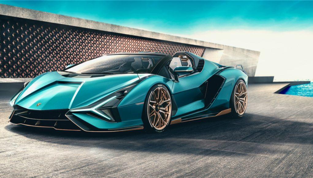 2021 Lamborghini Sian Roadster