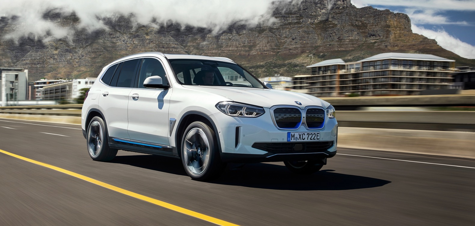 2021 bmw ix3 is the brand's first electric suv | the