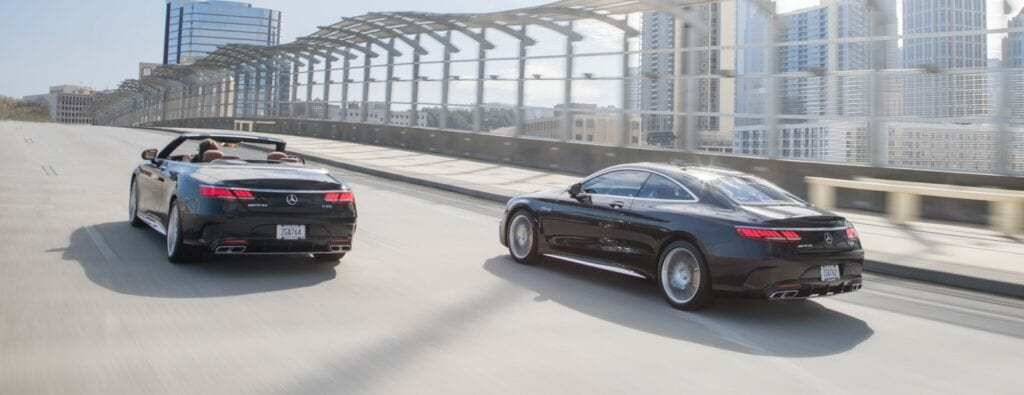 2020 Mercedes-Benz S-Class Coupe and Convertible