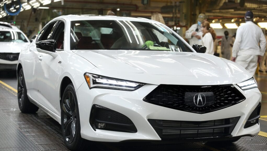 2021 Acura TLX Production