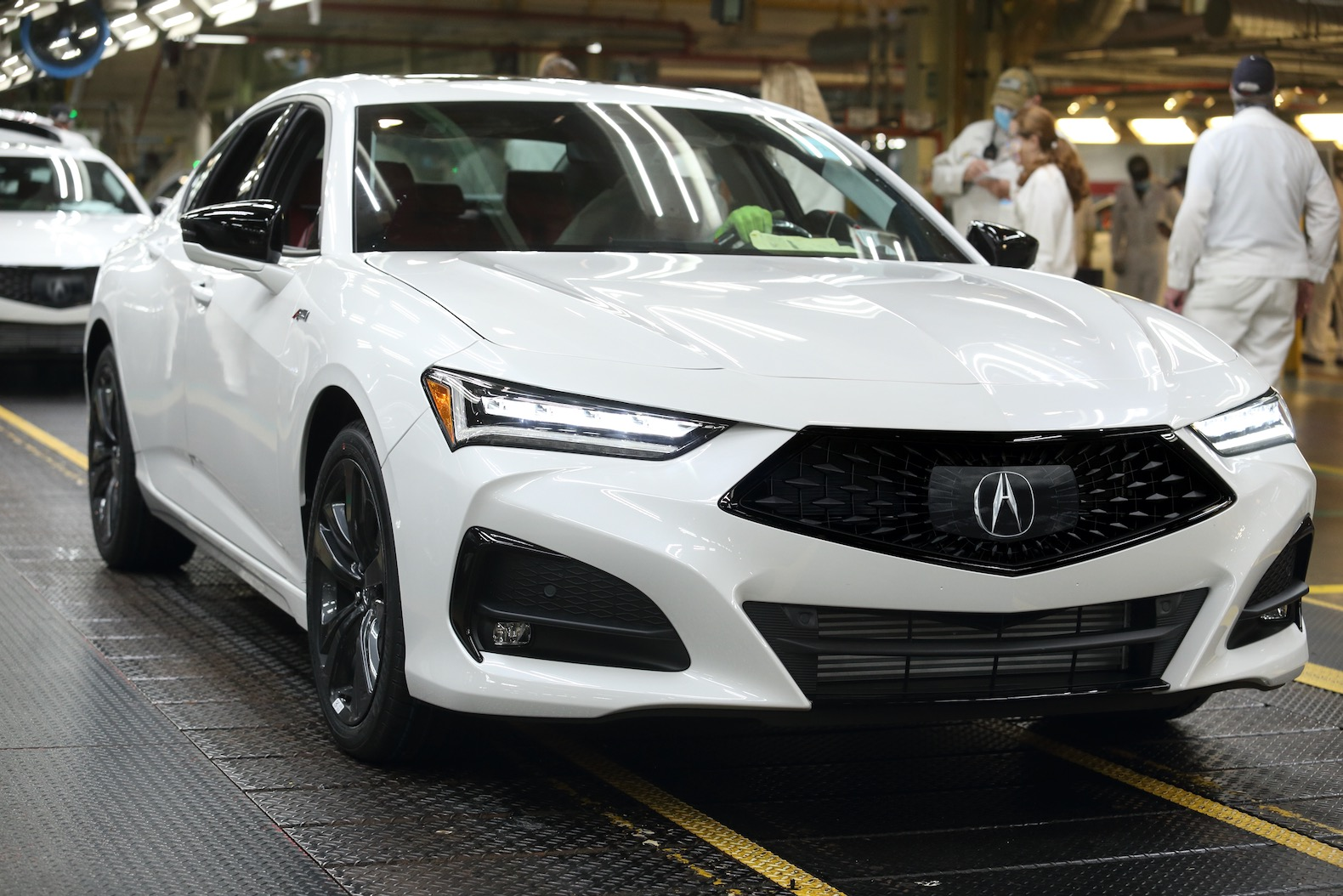 2021 acura tlx production begins  the torque report