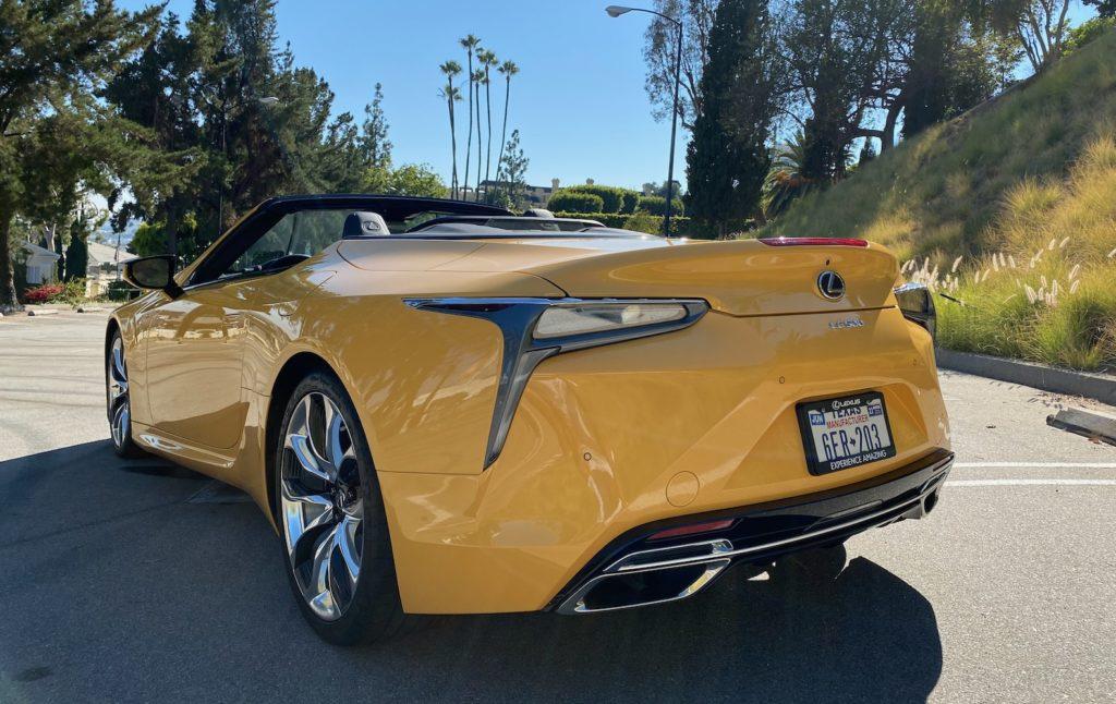 2021 Lexus LC 500 Convertible Review