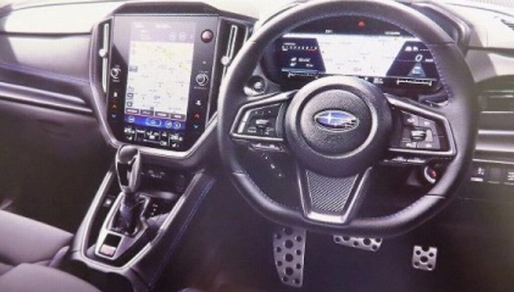 Next-Generation Subaru WRX Interior Leak