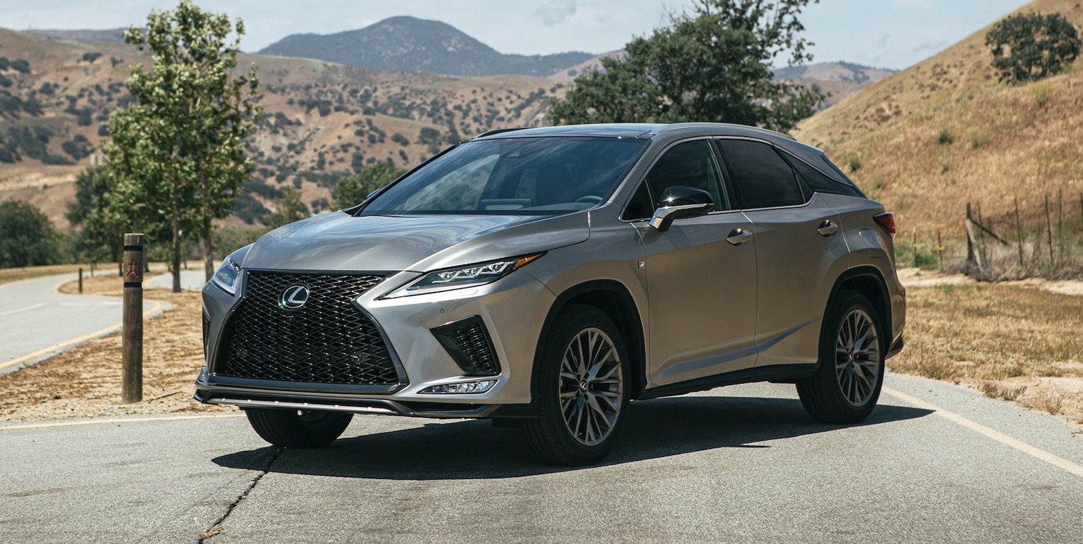 2021 lexus rx gets more standard tech and the black line