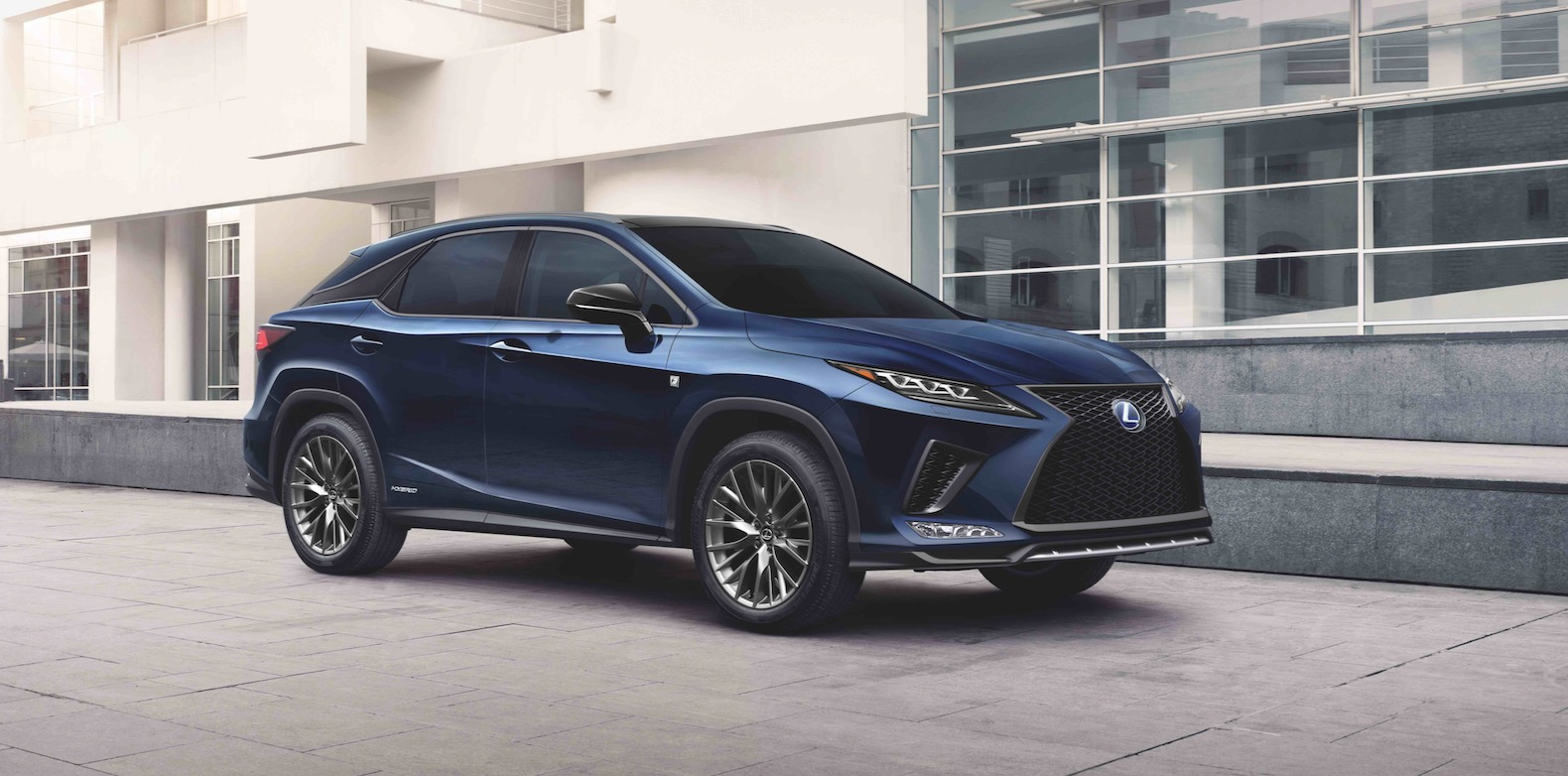 2021 Lexus Rx Gets More Standard Tech And The Black Line Special Edition The Torque Report