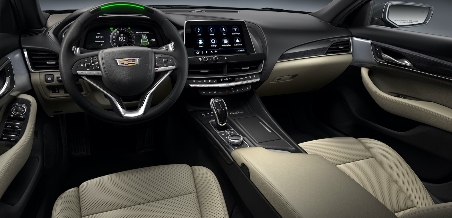 2021 cadillac ct4 and ct5 get enhanced super cruise and