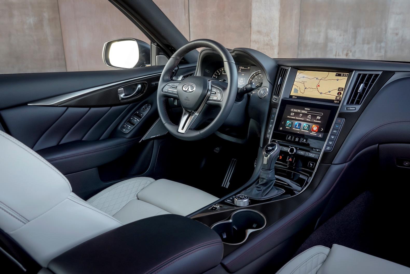 2021 infiniti q50 gets a sensory trim level   the torque