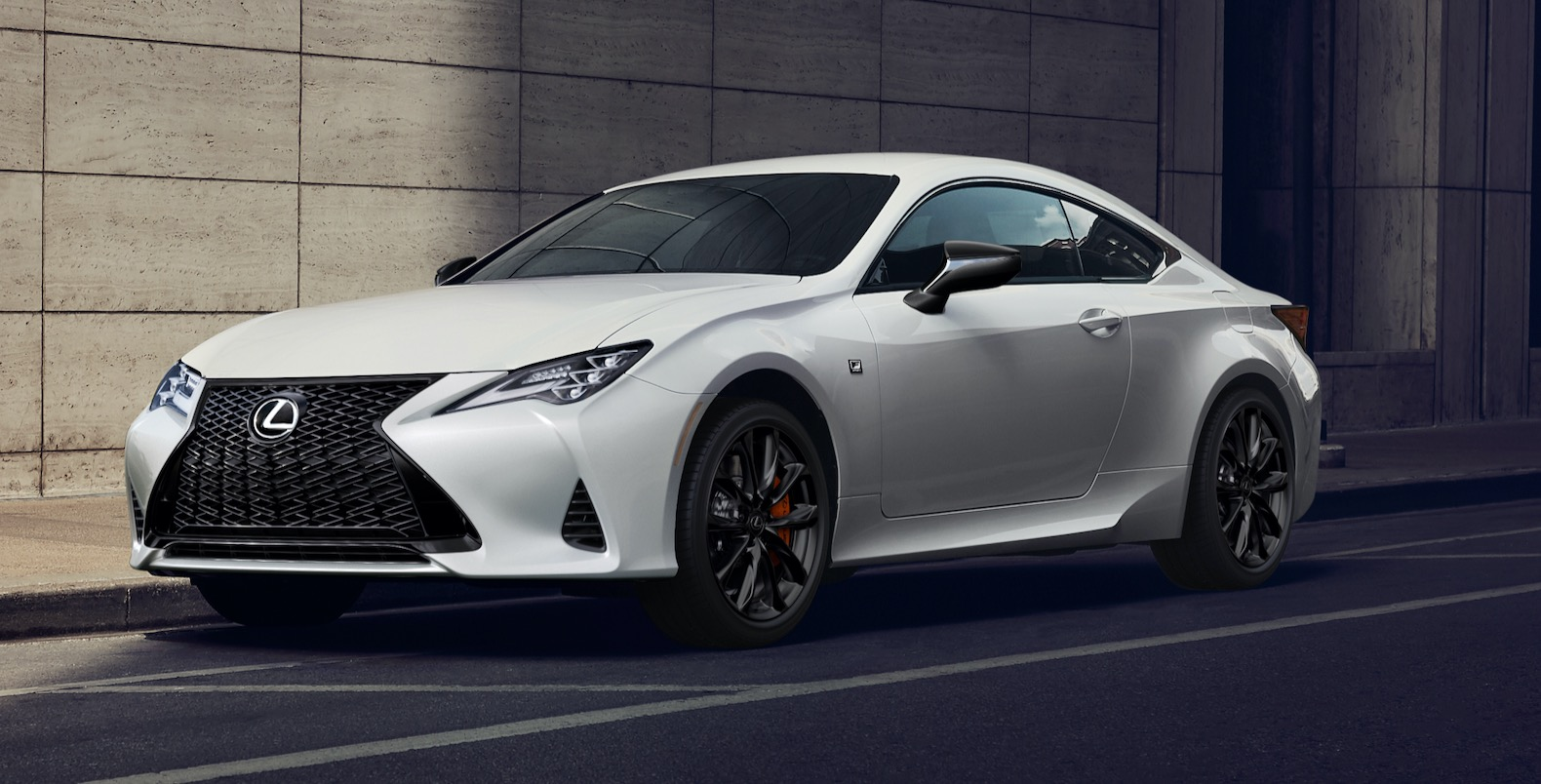 2021 lexus rc gets updated tech and black line special