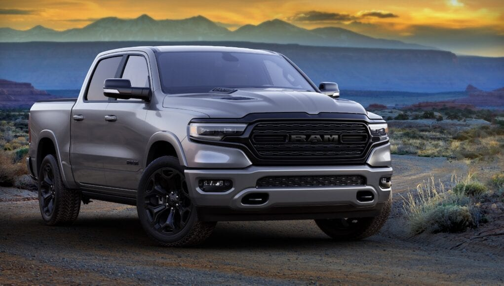 2021 Ram 1500 and Heavy Duty Limited Night Editions look ...
