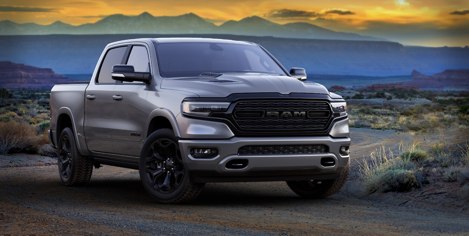 2021 ram 1500 and heavy duty limited night editions look