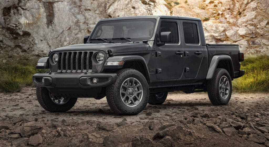 2021 Jeep Gladiator 80th Anniversary Edition