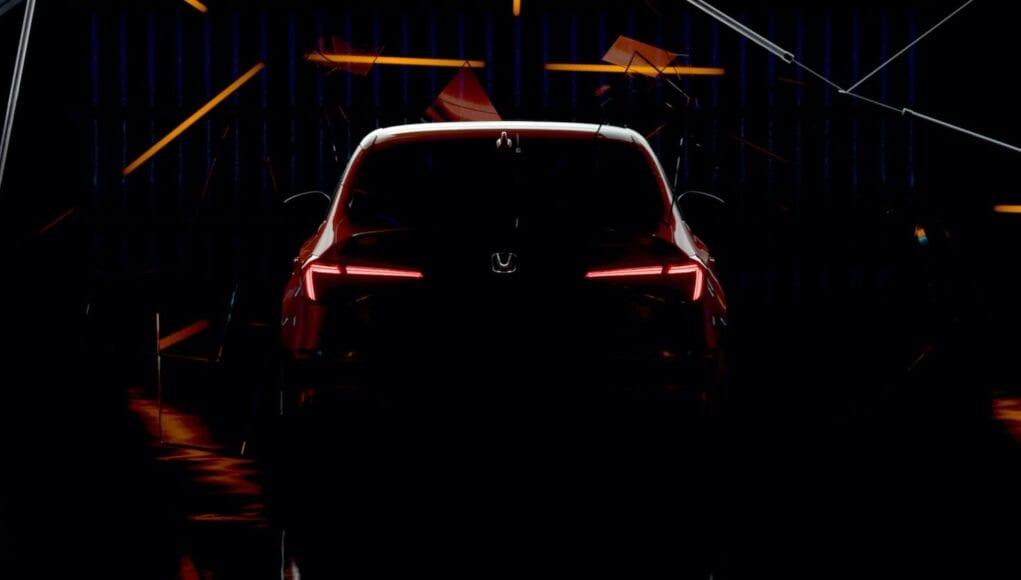 2022 Honda Civic Sedan Teaser