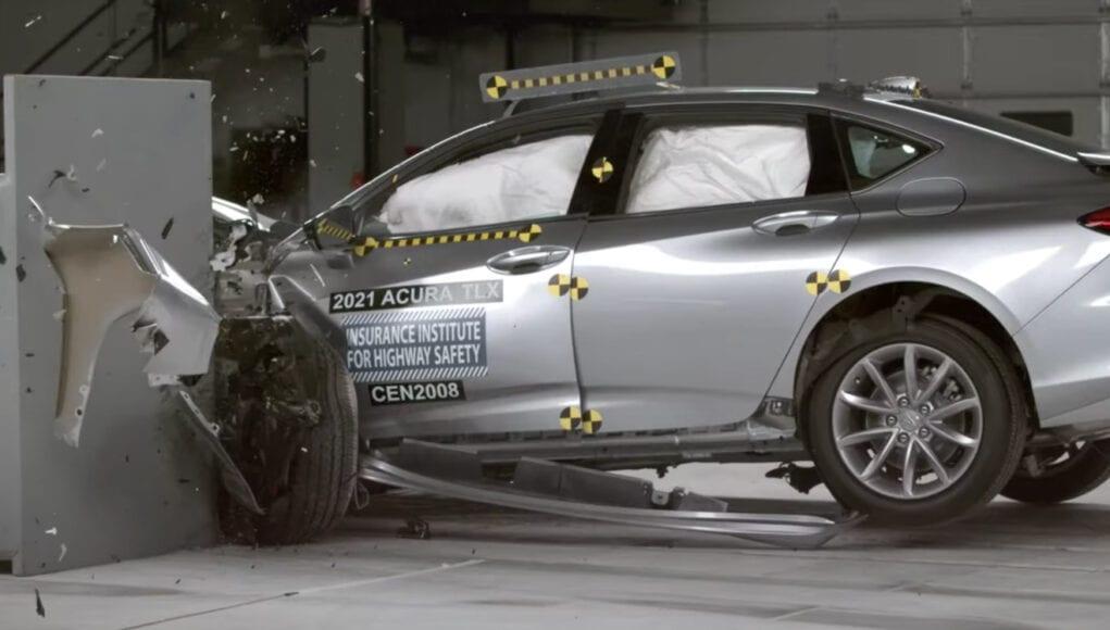 2021 Acura TLX IIHS