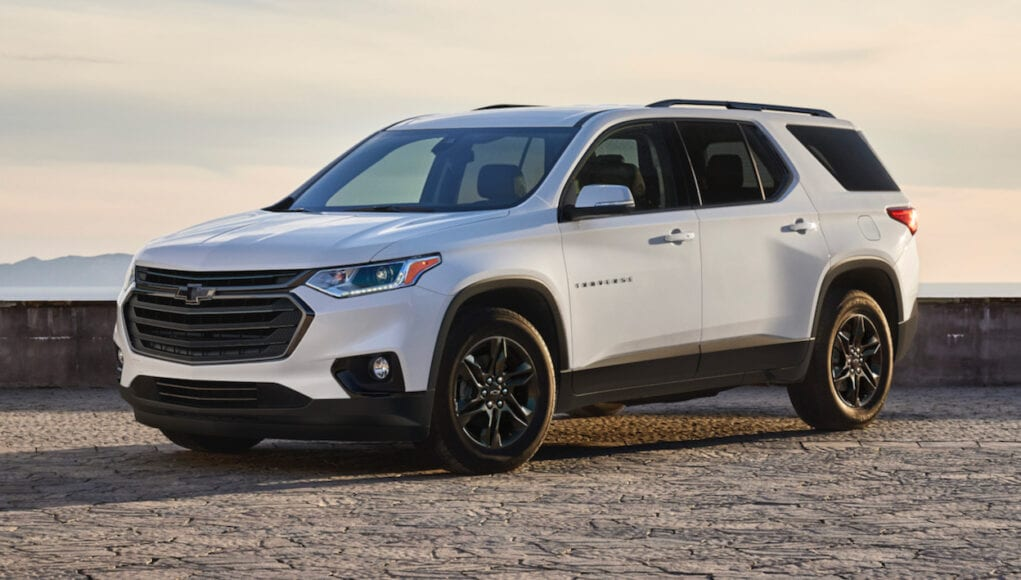 2021 Chevrolet Traverse Sport Edition