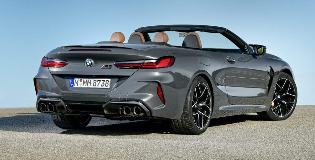 2020 BMW M8 Convertible Review