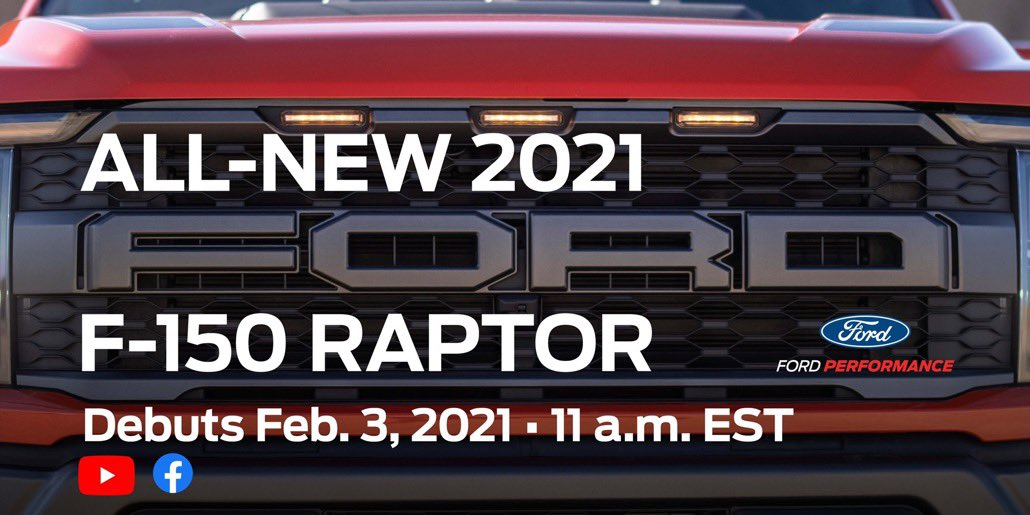 2021 Ford F-150 Raptor Teaser