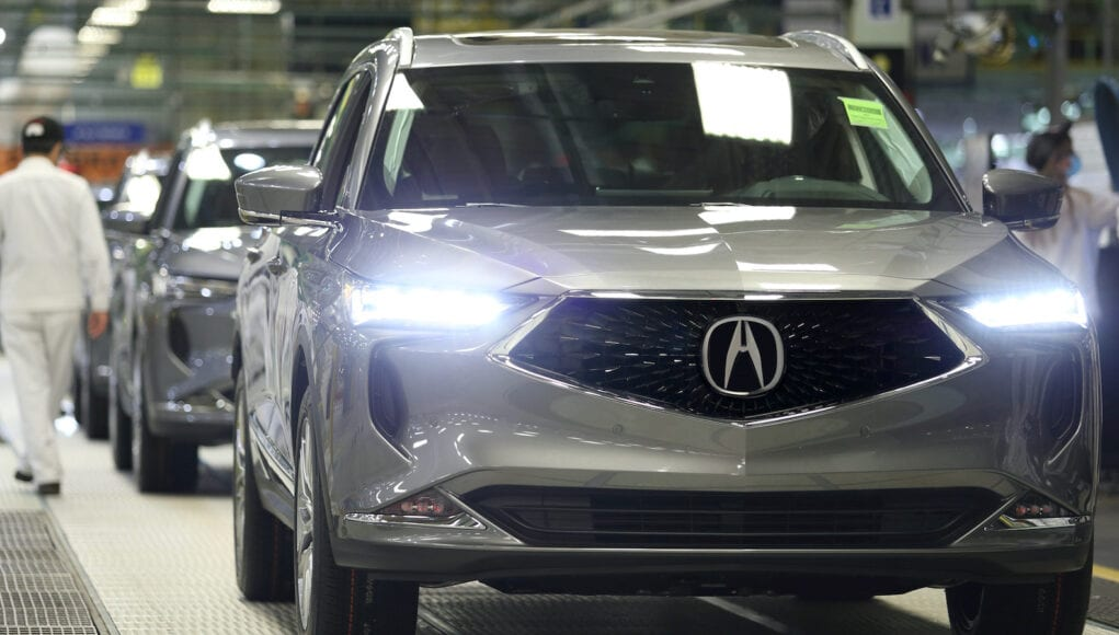 2022 Acura MDX Production