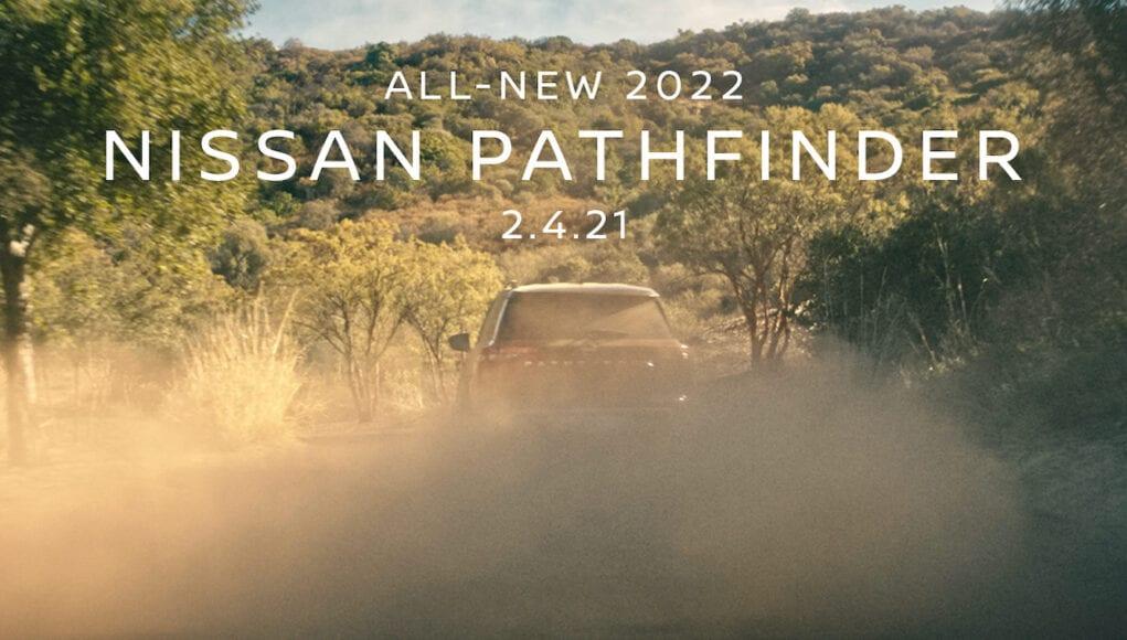 2022 Nissan Pathfinder Teaser