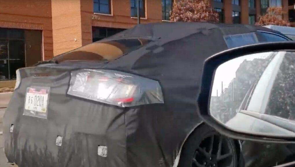 2022 Honda Civic Hatchback Prototype