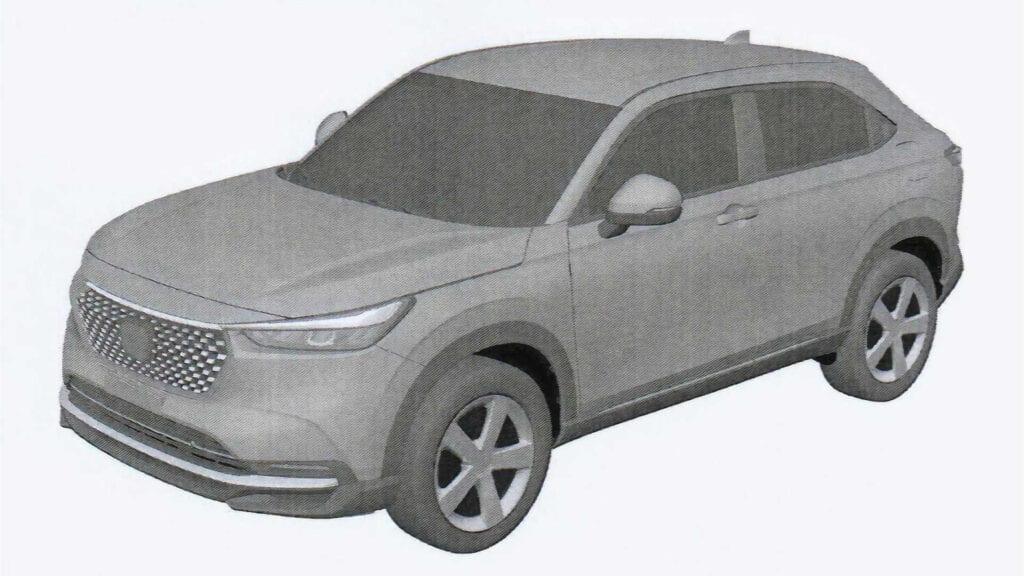 2022 Honda HR-V Patent Images
