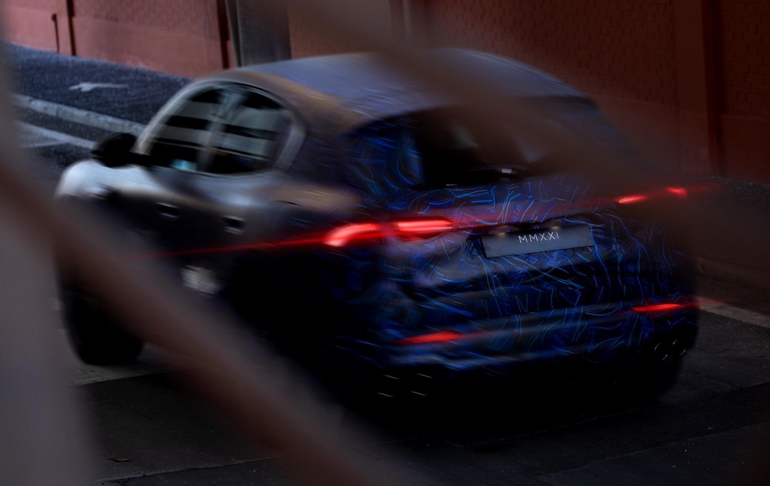 Maserati Grecale Teaser