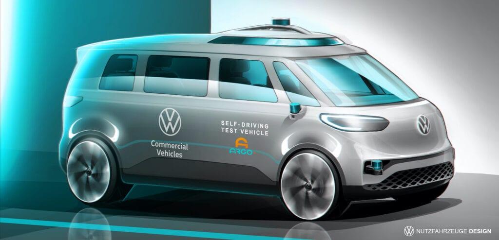 Autonomous VW ID. Buzz