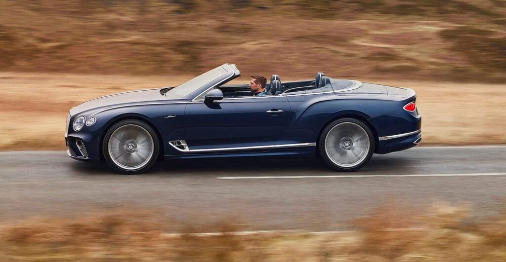 2022 Bentley Continental GT Speed Convertible