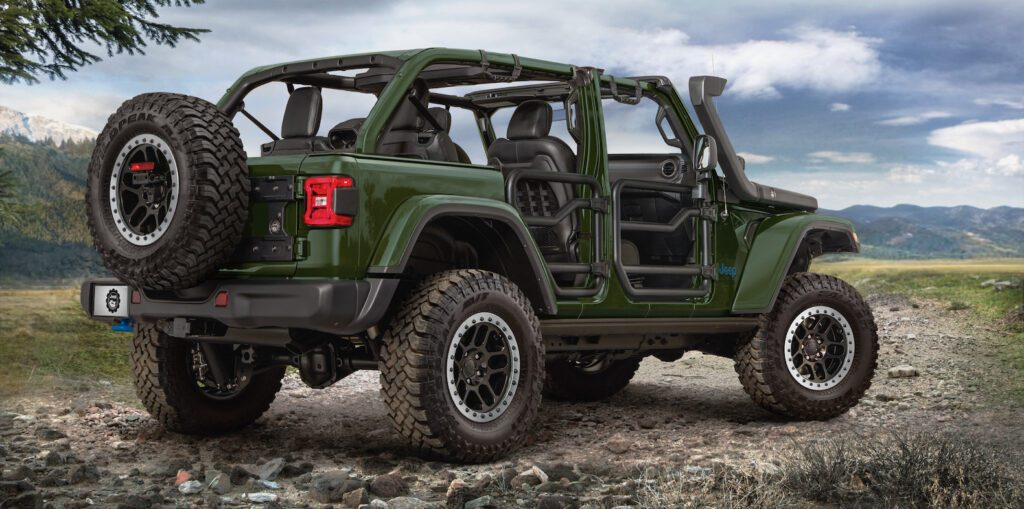 Jeep Wrangler 4xe lift kit