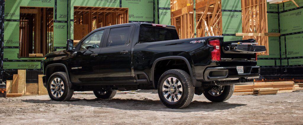2022 Chevrolet Silverado HD Multi-Flex Tailgate