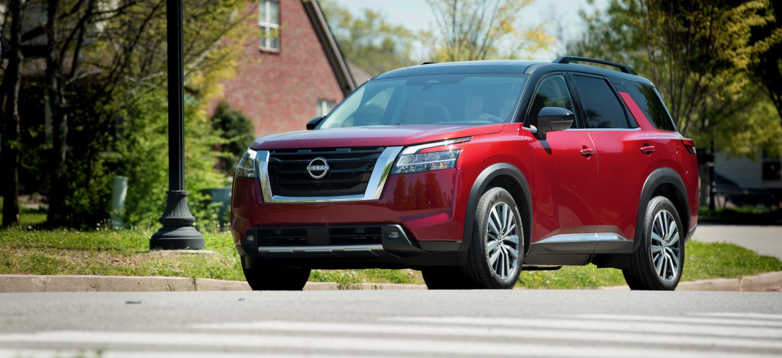 2022 Nissan Pathfinder Production