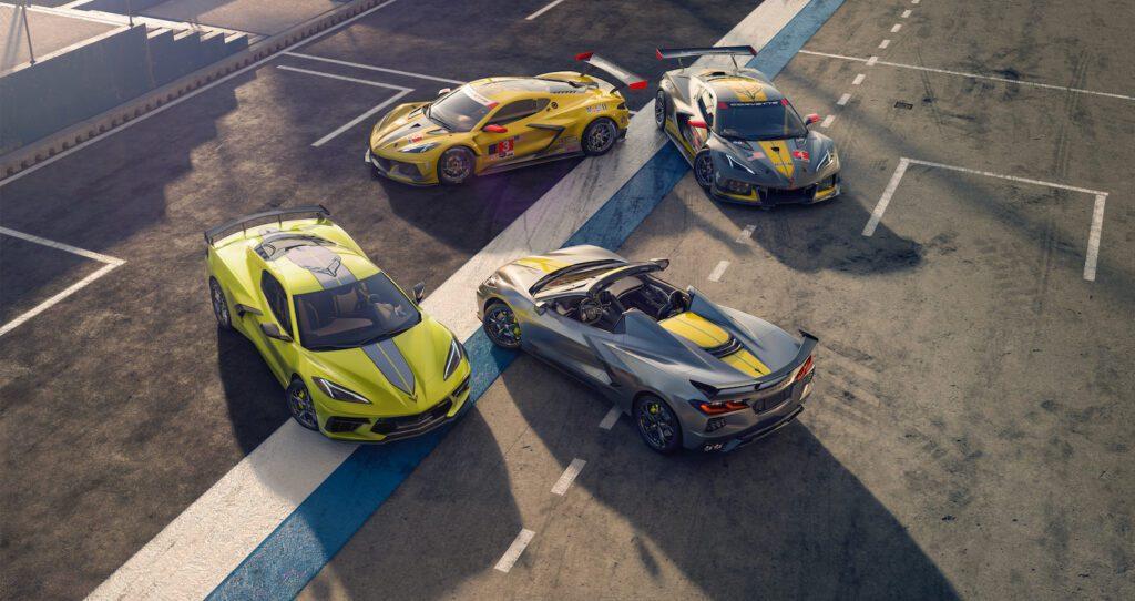 2022 Chevrolet Corvette Stingray IMSA GTLM Championship Editions
