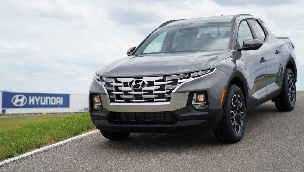 2022 Hyundai Santa Cruz production