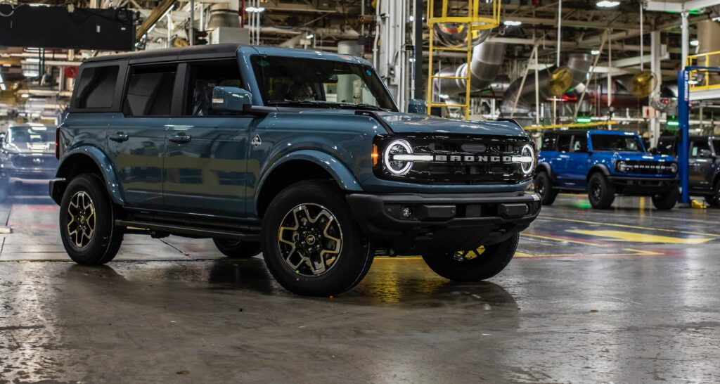 2021 Ford Bronco Production