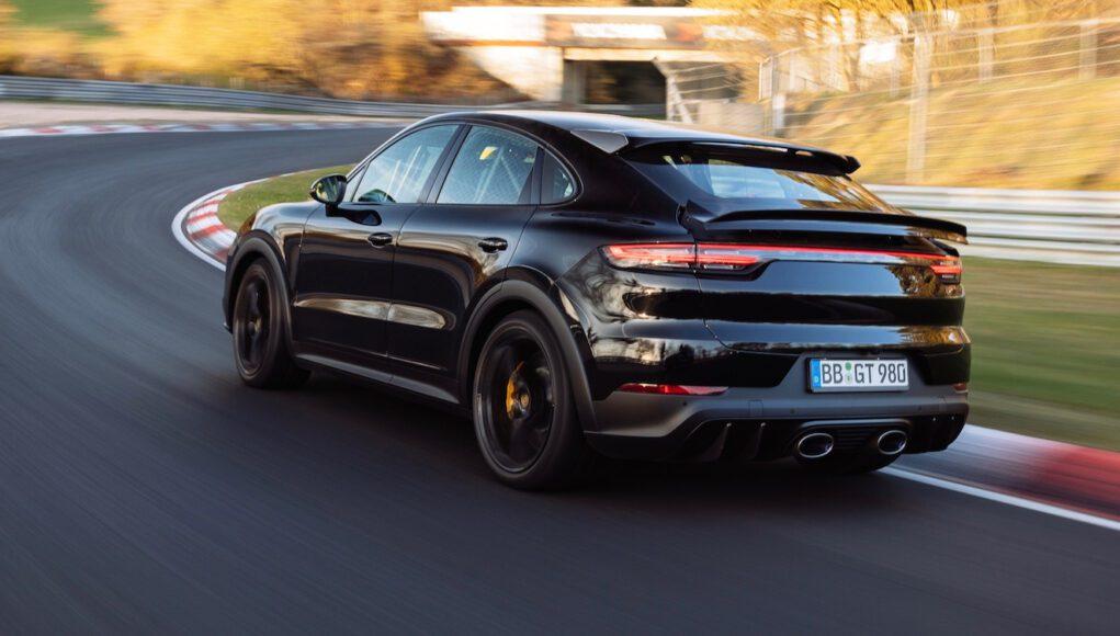 High Performance Porsche Cayenne Coupe