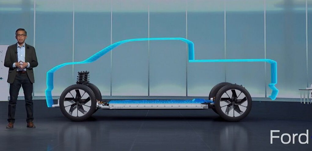 Ford electric truck teaser