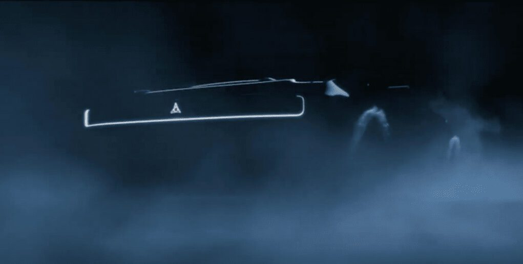 electric dodge muscle car teaser